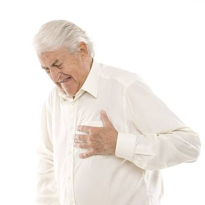 Button Down Shirt Photograph - Heart Attack by