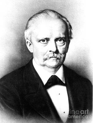 Visual Perceptions Photograph - Hermann Von Helmholtz, German Physician by Science Source
