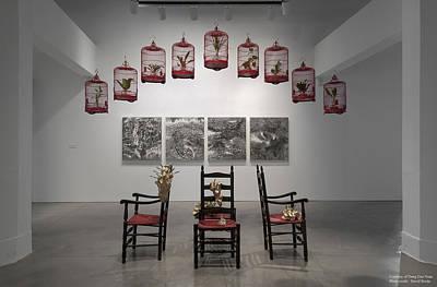 Deng Guo Yuan Sculpture - Installation View by Deng Guo Yuan