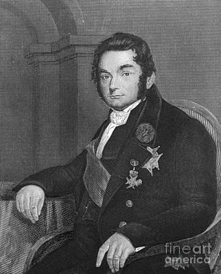 J�ns Jacob Berzelius, Father Of Swedish Print by Science Source