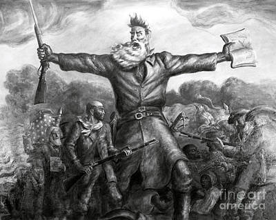 John Brown, American Abolitionist Art Print by Photo Researchers