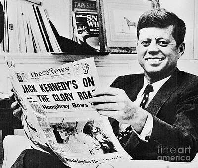 John F. Kennedy (1917-1963) Art Print by Granger