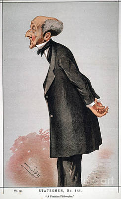 Photograph - John Stuart Mill by Granger