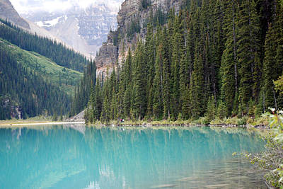 Photograph - Lake Louise by Harvey Barrison