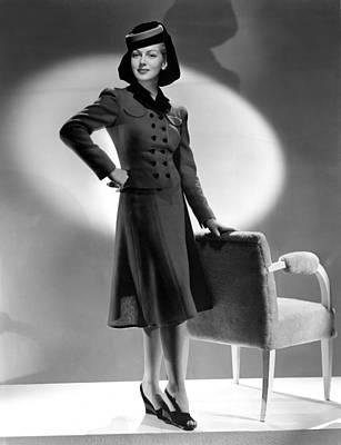 Lana Turner, Mgm, 1940s Art Print