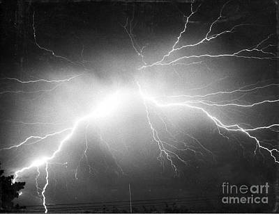 Lightning Print by Science Source