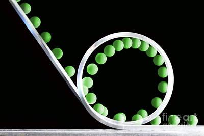 Loop The Loop Art Print