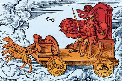 Mars, Roman God Of War Art Print