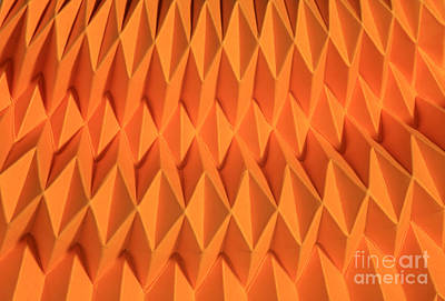 Mathematical Origami Print by Ted Kinsman