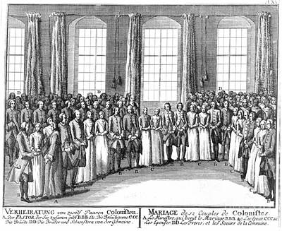 Moravians, 1757 Print by Granger