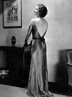 Myrna Loy, Mgm Portrait By Clarence Art Print by Everett