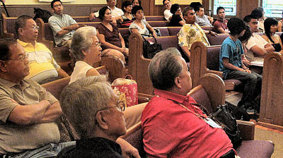 Photograph - Nafaum Plenary 2009 by Glenn Bautista