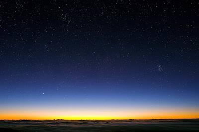 Night Sky Art Print by David Nunuk