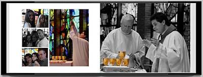 Photograph - Nr Baptism Dinner Event by Lee Dos Santos