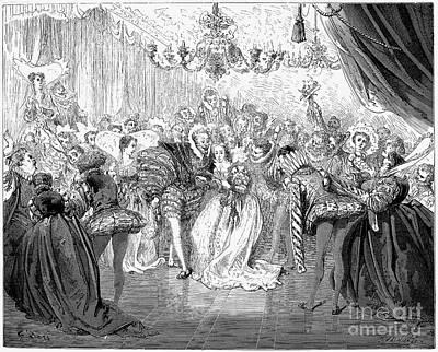 Ball Gown Photograph - Perrault: Cinderella, 1867 by Granger