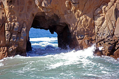Photograph - Pfeiffer Beach  by Harvey Barrison