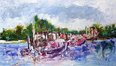 Painting - Portsmouth Nh by Michel Croteau