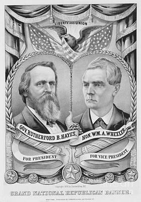 Presidential Campaign, 1876 Art Print