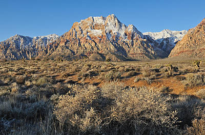 Whimsically Poetic Photographs - Red Rock Canyon by Dean Pennala