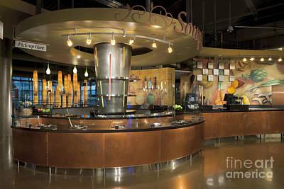 Ordering Photograph - Restaurant by Robert Pisano