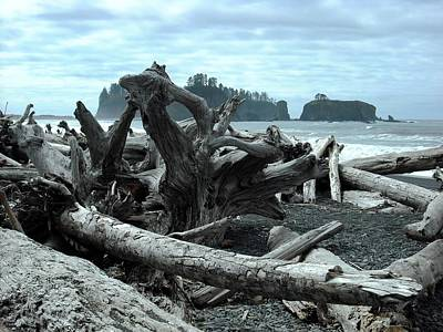 Photograph - Rialto Beach La Push by Kelly Manning