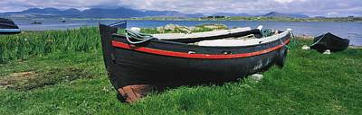 Currach Photograph - Roundstone, Connemara, Co Galway by The Irish Image Collection