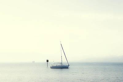 Sailing Boat Art Print by Joana Kruse