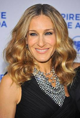 Statement Necklace Photograph - Sarah Jessica Parker At Arrivals by Everett