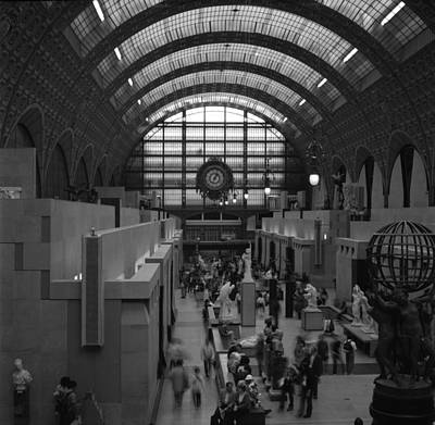 5 Seconds In The Musee D'orsay Art Print by Loud Waterfall Photography Chelsea Sullens
