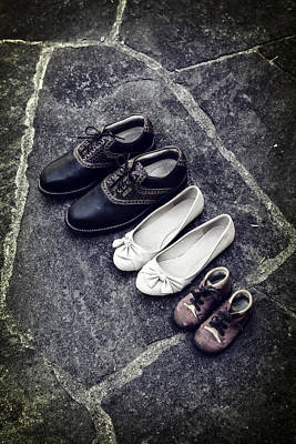 Lace Photograph - Shoes by Joana Kruse