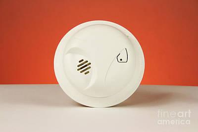 Smoke Detector Art Print by Photo Researchers, Inc.