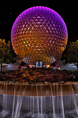 Photograph - Spaceship Earth Hdr by Jason Blalock