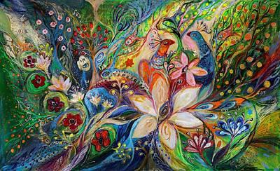 The Magic Garden Art Print by Elena Kotliarker