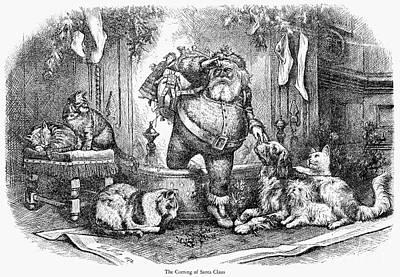 Thomas Nast: Santa Claus Art Print by Granger
