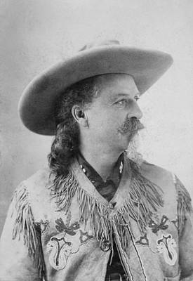 Photograph - William F. Cody (1846-1917) by Granger
