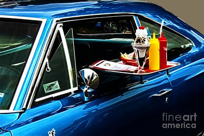 50's Take Out Art Print by Darleen Stry