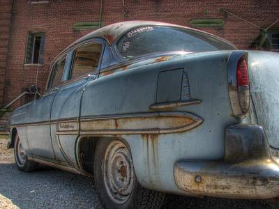Blue Chevy Photograph - '52 Chevy Bel Air by Jane Linders