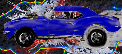 Automobile Digital Art - 520 Rock N Roll Fantasy by Scott Bishop