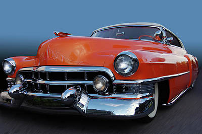 Art Print featuring the photograph 54 Cadillac De Ville by Bill Dutting