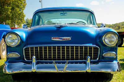 Photograph - 55 Chevy Bel Air  by Mark Dodd