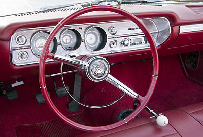 Photograph - 55 Chevy Ss Dash by Glenn Gordon