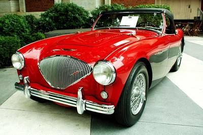 Pdx Art Museum Photograph - 56' Austin Healy by Cathie Tyler