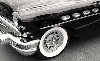 Photograph - 56 Buick Roadmaster by Tony Grider