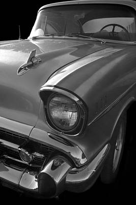 Street Rod Photograph - '57 Chevy Bel Air by Debra and Dave Vanderlaan