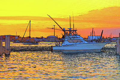 Photograph - 57- Sunset Cruise by Joseph Keane