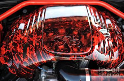 Photograph - 5.7l V8 by John Rizzuto