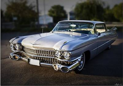 Stunning Cadillac Sedan Deville Art Fine Art America