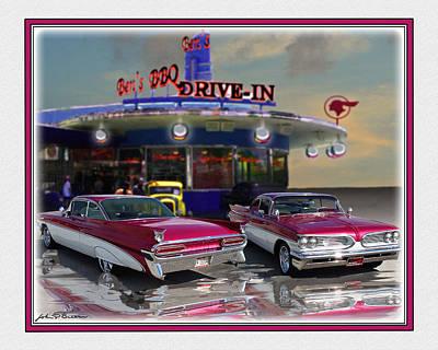 59 Pontiac Art Print by John Breen