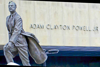 Photograph - Adam Clayton Powell Jr. by Theodore Jones