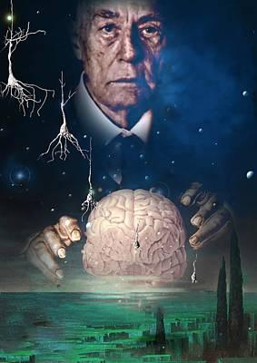 Alzheimer's Disease Art Print